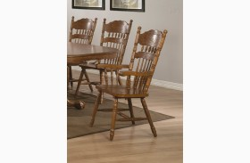 Brooks Oak Arm Chair Set of 2