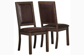 Genoa Upholstered Dining Side Chair Set of 2