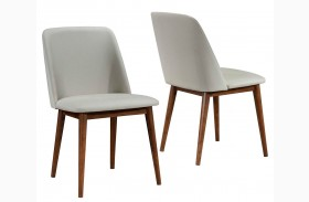 Barett Chestnut Dining Chair Set of 2