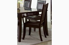 Middleton Cappuccino Side Chair Set of 2