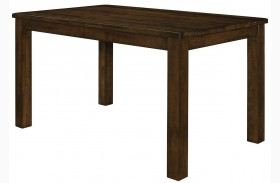 Wiltshire Rustic Pecan Counter Height Table