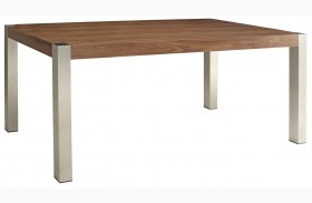 Faccini Medium Brown Rectangular Dining Table