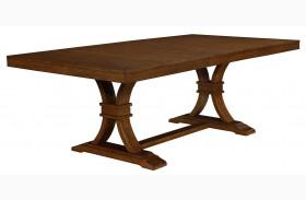 Abrams Truffle Extendable Rectangular Dining Table