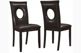 Stapleton Cappuccino Dining Chair Set of 2