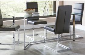 Augustin Chrome Table