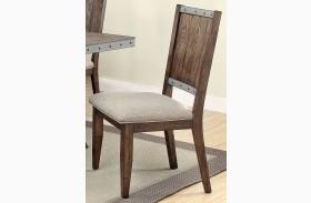 Beckett Dark Oak Side Chair Set of 2