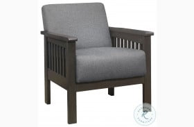 Lewiston Gray Accent Chair