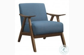 Damala Blue Accent Chair