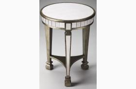 Garbo Masterpiece Mirror End Table