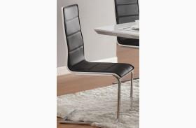 Broderick Modern Black Side Chair Set of 4