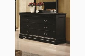Louis Philippe Black II Dresser