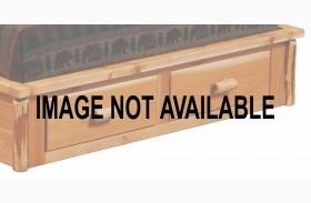 Cedar 3 Drawer Footboard Dresser for Cal. King Size Platform Bed