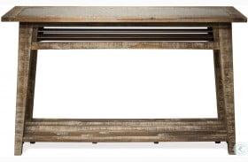 Rowan Rough Hewn Gray Sofa Table