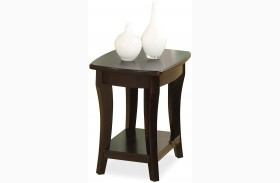 Annandale Dark Chairside Table
