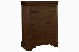 French Market French Cherry 5 Drawer Storage Chest