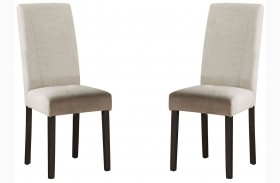 Nagel Ivory Parsons Chairs Set of 2