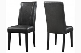Nagel Black Parsons Chairs Set of 2