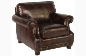 Anna Toberlone Leather Chair