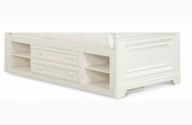 Classics 4.0 Smartstuff Saddle Summer White Storage Unit With Side Rail Panel