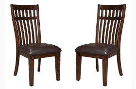Artisan Loft Warm Medium Oak Side Chair Set of 2