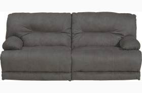 Noble Slate Power Reclining Sofa