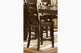 Crown Point Counter Height Chair Set of 2