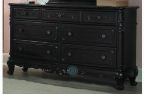 Cinderella Dark Cherry Dresser
