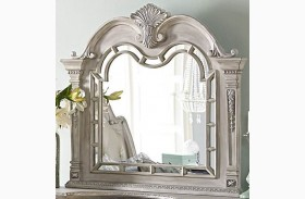 Palace II White Wash Mirror