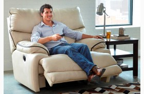 Larkin Buff Recliner