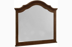 French Market French Cherry Arched Mirror