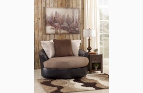Masoli Mocha Living Room Set From Ashley 14201 Coleman