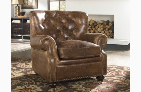 Louis Coco Brompton Leather Chair