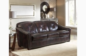Lucinda Toberlone Leather Sofa
