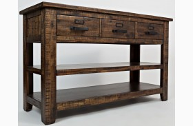 Cannon Valley Sofa/Media Table