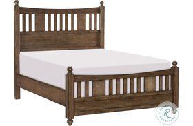 Brevard Brown Panel Bed