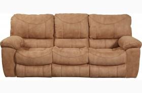Terrance Caramel Power Reclining Sofa