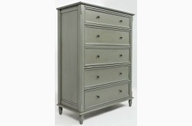 Avignon Grey 5 Drawer Chest