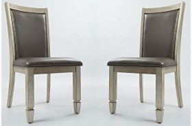 Casa Bella Upholstered Dining Chair Set of 2