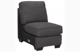 Alenya Charcoal Armless Chair