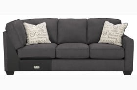 Alenya Charcoal Laf Sectional From Ashley Coleman Furniture