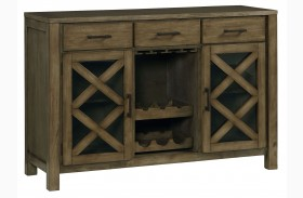Omaha Weathered Burnished Grey Sideboard