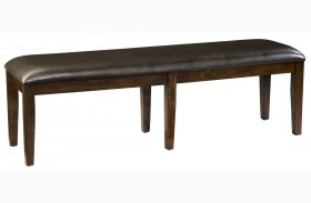 Bella Warm Chocolate Cherry Bench