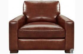 Westport Randall Chestnut Leather Chair