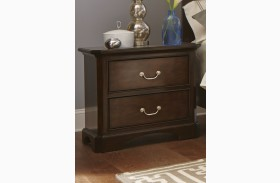 Avington Dark Cognac Nightstand