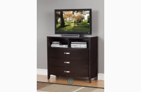 Lyric Espresso TV Chest