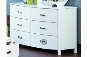 Lyric White Dresser