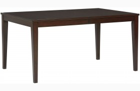Noveau Dark Merlot Extendable Leg Dining Table