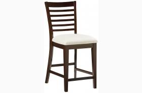 Noveau Dark Merlot Counter Height Chair