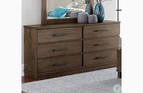 Bracco Rustic Brown Dresser