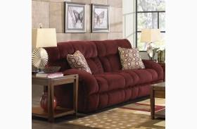 Siesta Wine Power Reclining Sofa